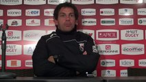 Rugby Top 14 - Stéphane Glas réagit après Oyonnax - Brive (2e partie)