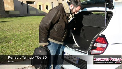 Autoweb - Essai Renault Twingo TCe 90