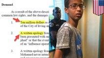 Jam buatannya dikira bom, Ahmed Mohamed menuntut uang 15 Milyar