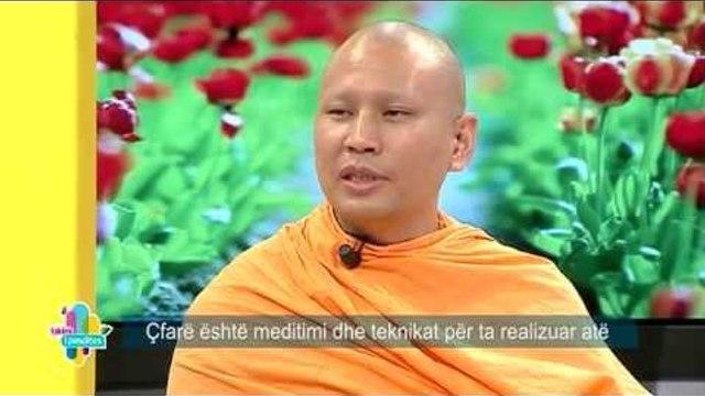 Takimi i pasdites - Nje murg budist rrefen historine e tij dhe teknikat e meditimit! (15 prill 2015)