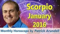 Scorpio Horoscopes January 2016
