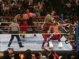WWE WrestleMania 12 - Vader, British Bulldog & Owen Hart vs. Yokozuna, Ahmed Johnson & Jake Roberts