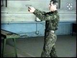 БАРС. Демонстрация стрельбы с одной руки,с двух рук,из различных положений,с разворота