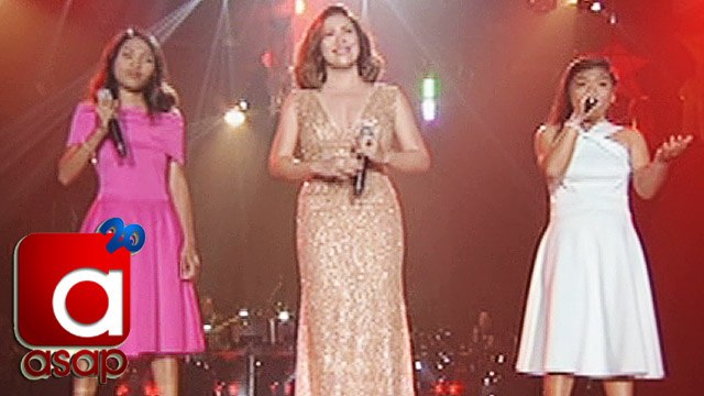 """ASAP: Angeline Quinto sings """"Narito Ako"""" with ASAP One Lucky Day Fans"""