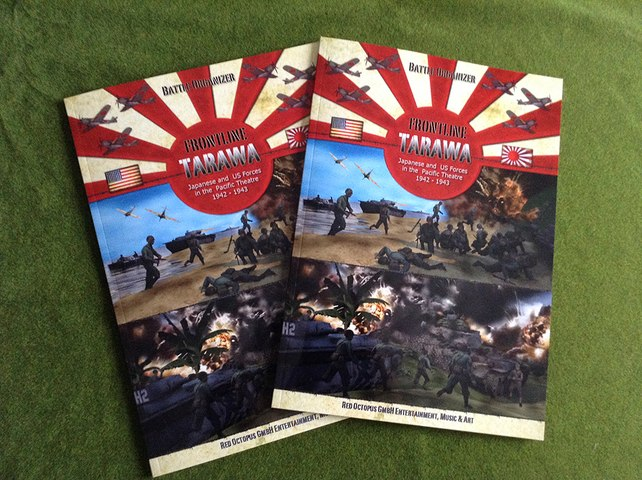Frontline Book: Tarawa / Pacific Theatre 1942 - 1943