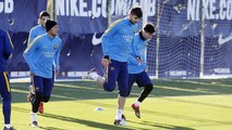 FC Barcelona training session: Barça are back to work after a day off