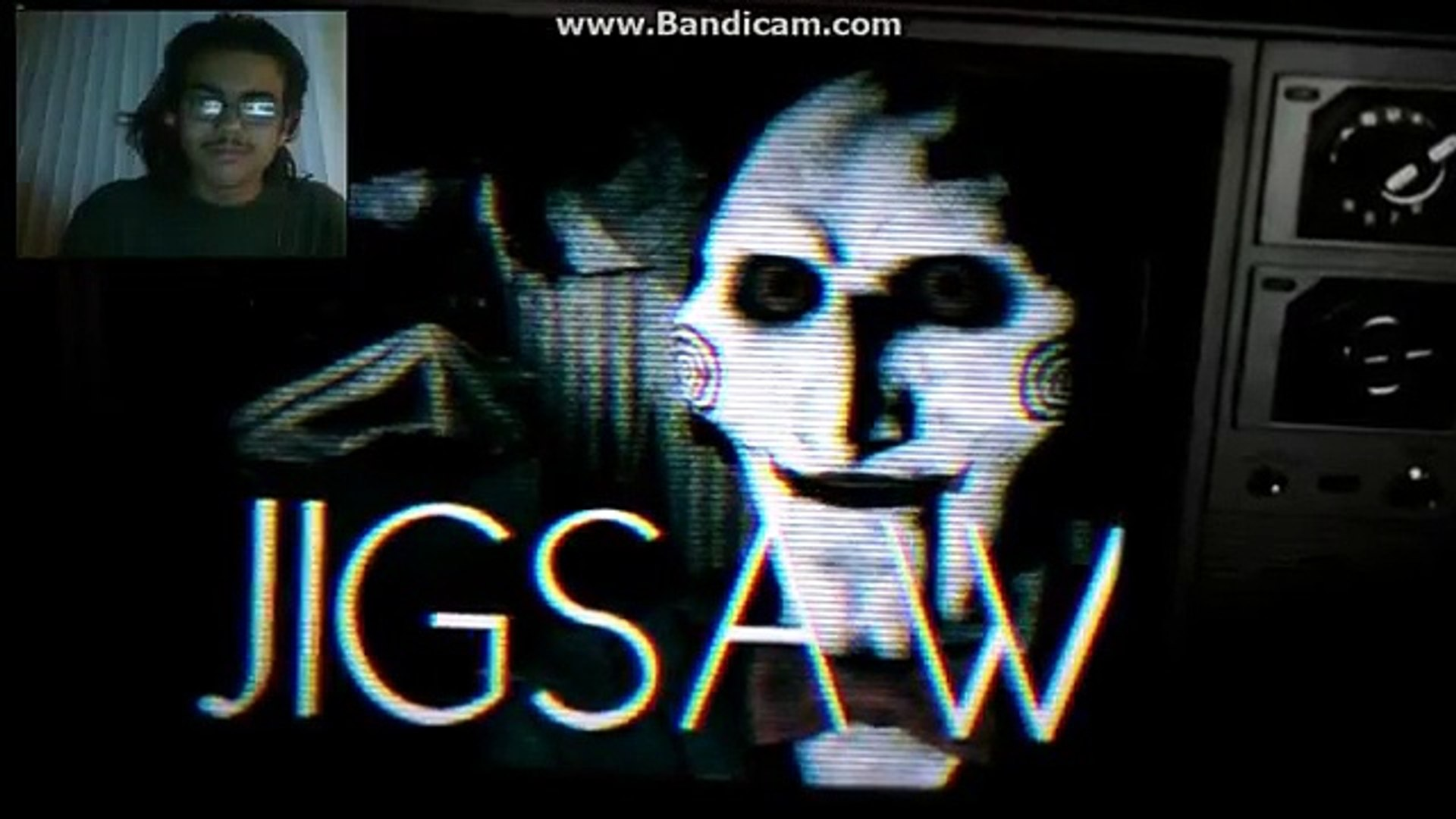 DEMON REACT:Jigsaw vs GLaDOS Epic Rap Battle Parodies