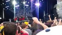 BABYMETAL Rock on the Range 2015 FULL CONCERT (w/ mosh pit, circle pit, and wall of death)
