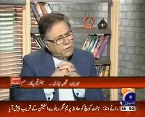 Hassan Nisar bashes LESCO for charging people unimaginable bill for electricity