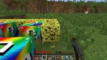 Pat and Jen PopularMMOs Minecraft RUNESCAPE TROLLING GAMES Lucky Block Mod Modded Mini Gam
