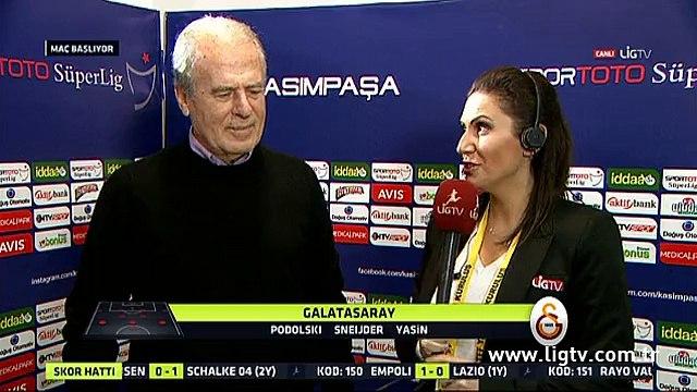 Mustafa Denizli, Kasımpaşa-Galatasaray maçı öncesinde konuştu. (29 Kasım)
