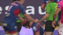 TOP 14 -  Grenoble – Paris : 19-21 - ESSAI Peter KIMLIN (FCG) - Saison 2015/2016