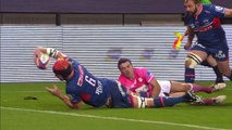 TOP 14 -  Grenoble – Paris : 19-21 - ESSAI Anthony HEGARTY (FCG) - Saison 2015/2016