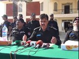 DPO Dir Lower press conference at Ouch police station on the arrest of Jamiullah Killers. Report by Ahmad Shah