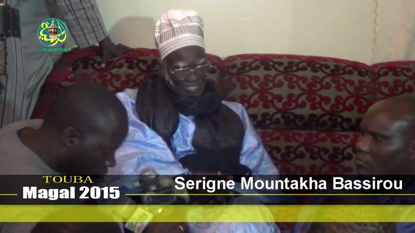 Magal Touba 2015: Dicours de Sr Mountakha Bassir Mbacké (16 Safar 1437)