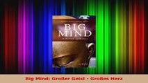 Read  Big Mind Großer Geist  Großes Herz Full Online