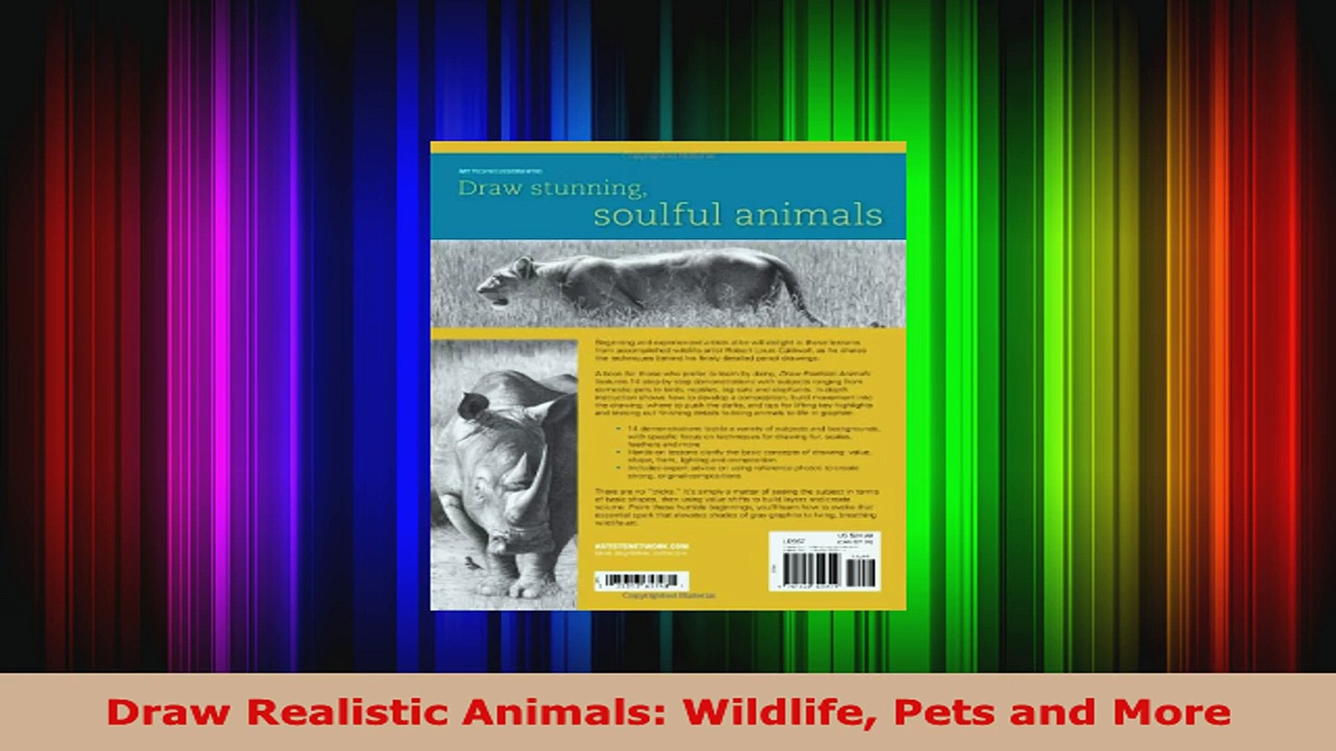 Read  Draw Realistic Animals Wildlife Pets and More EBooks Online