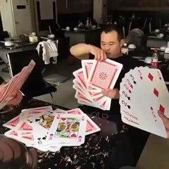 I don't usually play cards