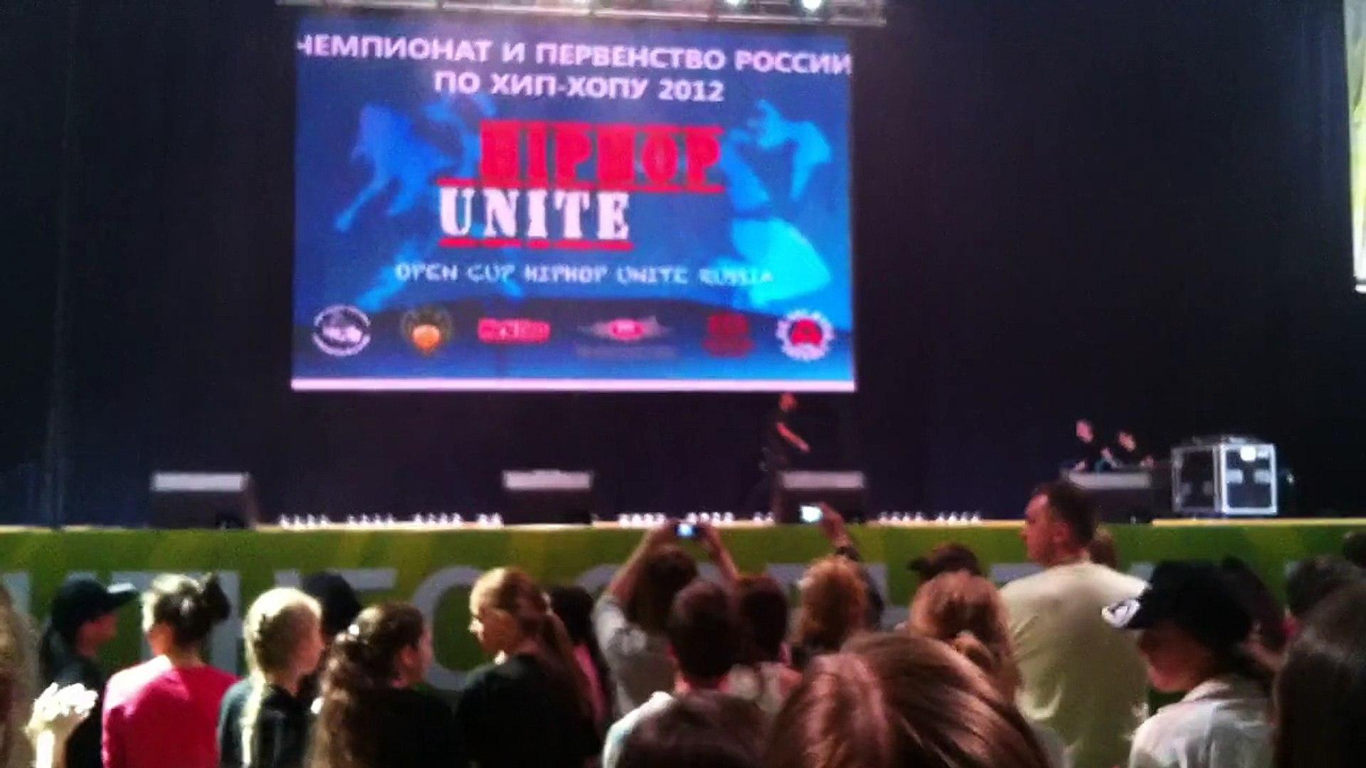 Юлианна Бухольц и Иван Можайкин. Forward. Seniors. April 27, 2012. Final