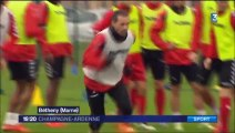 15 J15 REIMS RENNES Avant match Guégan
