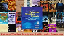 PDF Download  Extreme Weather Events and Public Health Responses Download Full Ebook