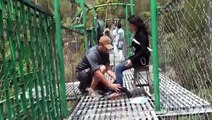 Bunjee Jumping in Nepal, Nepal Bunjee Jump, LRTE Bunjee Jump, Bungy, Bungee Jump