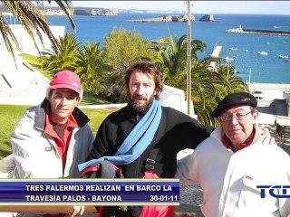 """El """"Capitán Salitre"""" aprieta los lazos entre Palos y Baiona"""