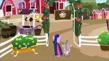 (HD) MLP:FiM S1E01 - Twilight First Meets Applejack & The Apple Family