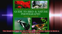 The Royal Society for the Protection of Birds Guide to Birds  Nature Photography