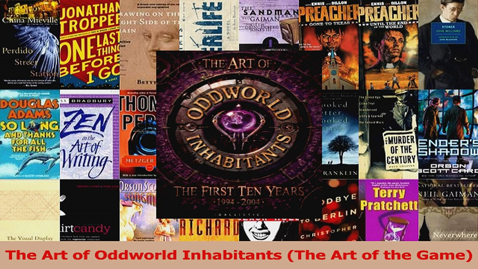 Read The Art of Oddworld Inhabitants The Art of the Game Ebook Free