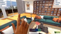 360 Virtual Reality Interior application experience for touch screen, VR Glasses & google cardboard