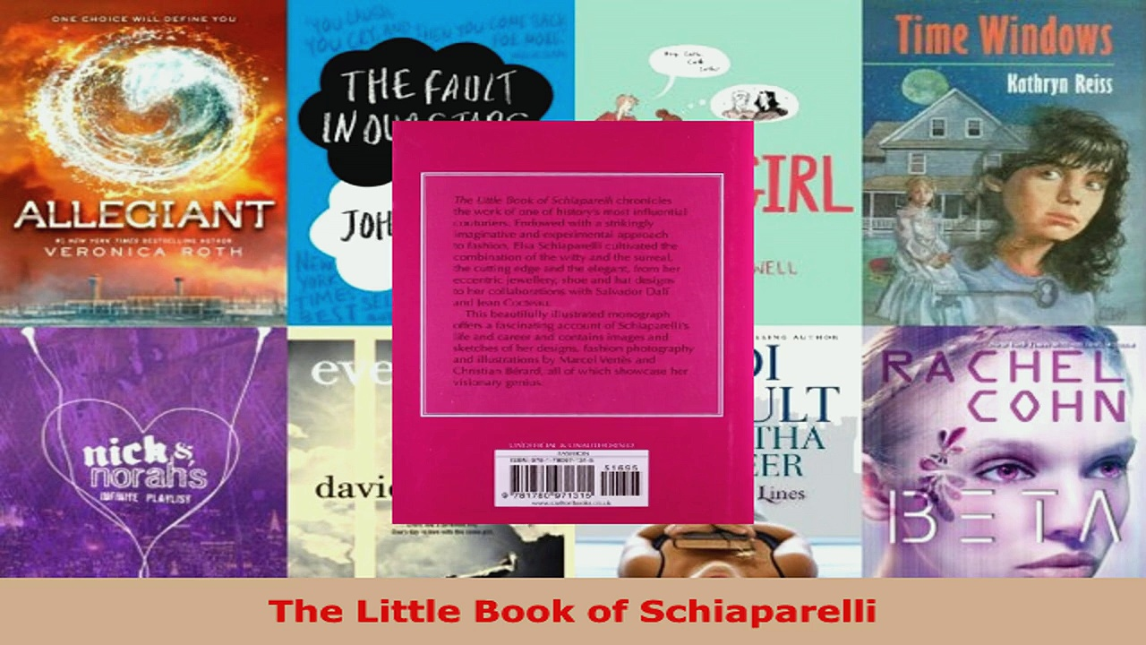 Read  The Little Book of Schiaparelli EBooks Online