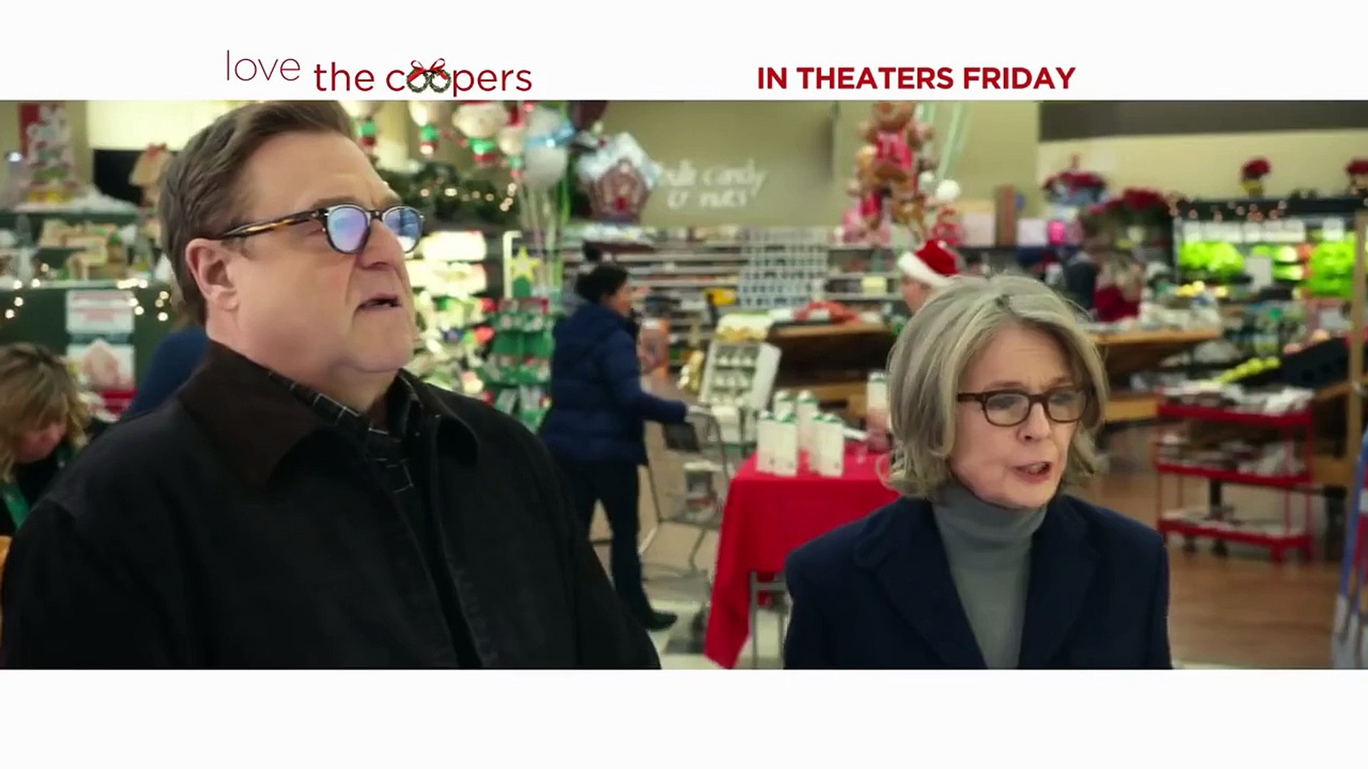 Love the Coopers TV Spot - Theres No Place Like Home (2015) - John Goodman, Ed Helms Comedy HD
