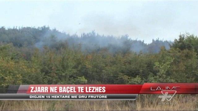 Zjarr në Baçel të Lezhës - News, Lajme - Vizion Plus