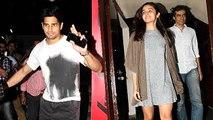 Alia Bhatt And Sidharth Malhotra SPOTTED At Tamasha Screening
