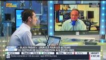 """Les tendances à Wall Street : """"La seule chose à se mettre sous la dent est d'extrapoler sur les ventes dans les magasins durant ce long week-end de Thanksgiving"""", Gregori Volokhine - 27/11"""