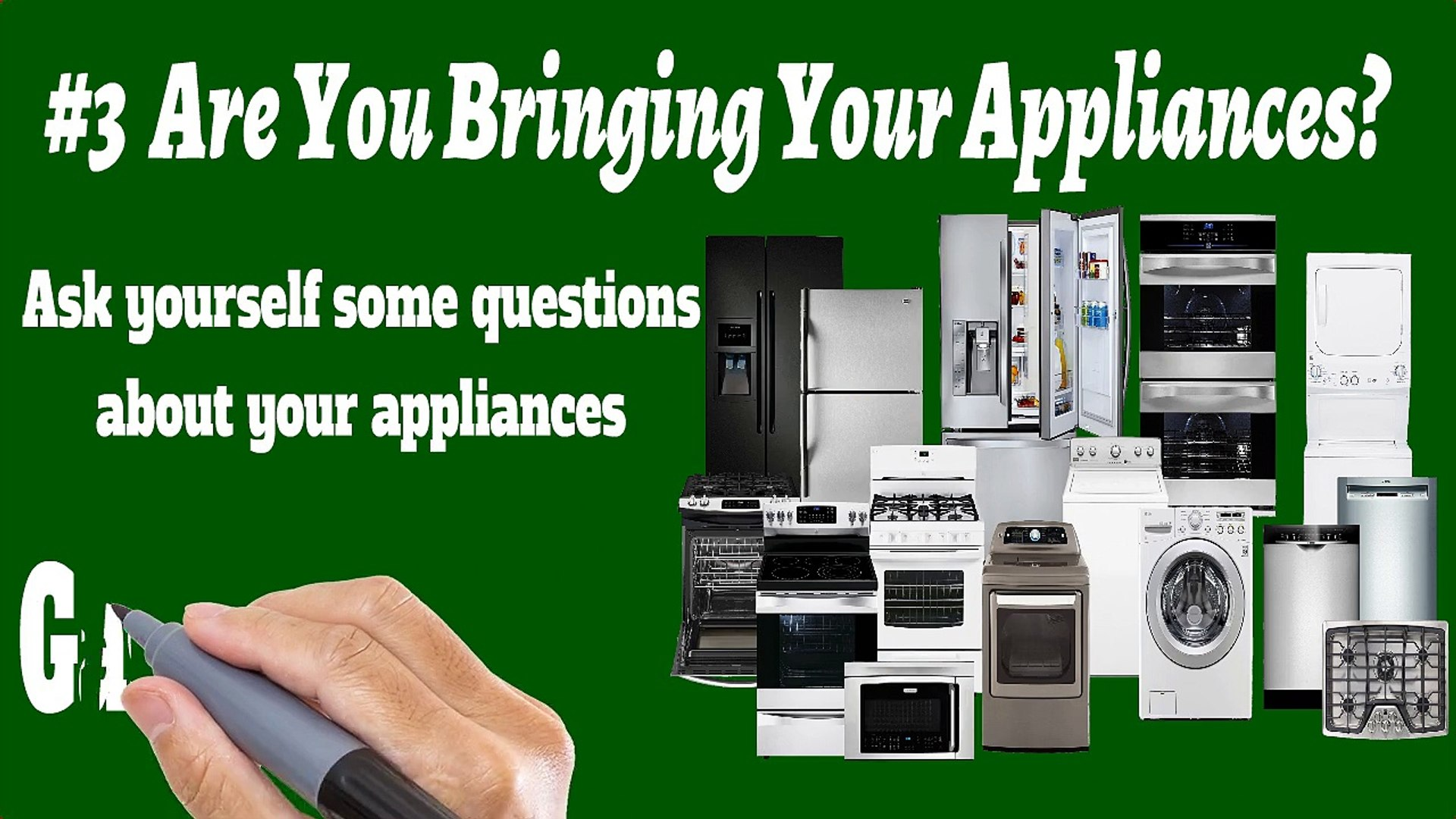 Appliance Movers Mississauga - 905-845-3667