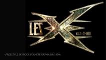 Les X-Men - Freestyle Skyrock Planète Rap 04/01/1999