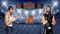 UWC RAW | Seth Rollins VS Dean Ambrose (Hardcore Champ)