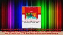 Read  Psychotherapie der BorderlinePersönlichkeit Manual zur psychodynamischen Therapie Mit PDF Ebook