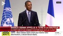 Obama : « En tant qu'une des premières économies du monde, je suis tout à fait conscient que nous sommes à la source du problème »