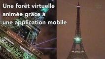 La Tour Eiffel se met au vert pour la COP21