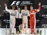 Classements du Grand Prix F1 d'Abu Dhabi 2015 - Infographie