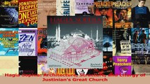Read  Hagia Sophia Architecture Structure and Liturgy of Justinians Great Church Ebook Free