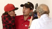 Golf Digest Behind the Scenes - Jason Day and His Son Behind the Scenes at Their Golf Digest Cover Shoot