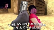 GMod Prop Hunt Funny Moments - CAN YOU CANMAN?! (Garrys Mod)