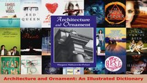 Read  Architecture and Ornament An Illustrated Dictionary PDF Online