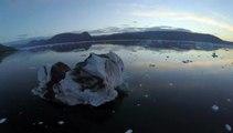 Buzz : La fonte des glaciers du Groenland filmée par un drone !