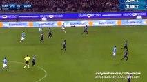 1-0 Gonzalo Higuaín Amazing Goal - Napoli v. Inter 30.11.2015 HD