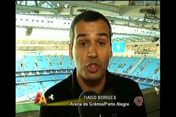 Jaeci Carvalho conversa com ex-gerente de futebol do Cruzeiro Alexandre Matos